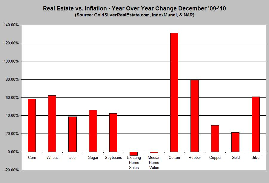 THERE IS NO INFLATION!  2009-2010inflation