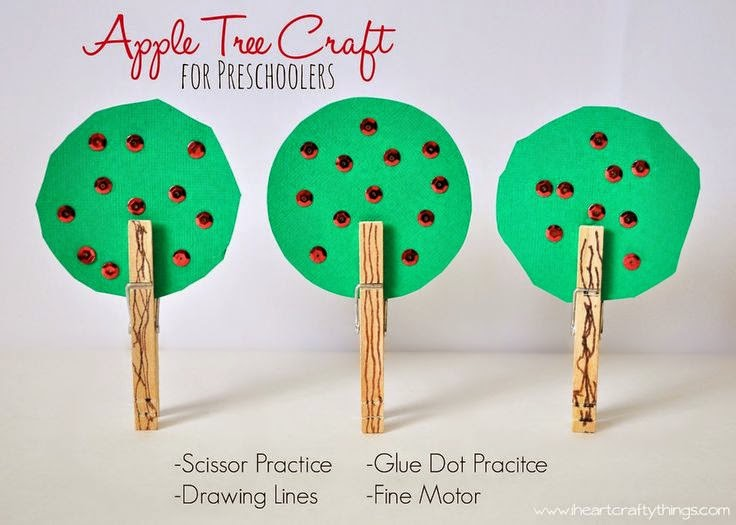http://www.iheartcraftythings.com/2014/09/apple-tree-craft-for-preschoolers.html