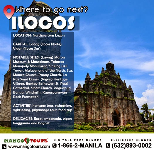 Mango Tours Where to go next Ilocos Paoay Church Philippines