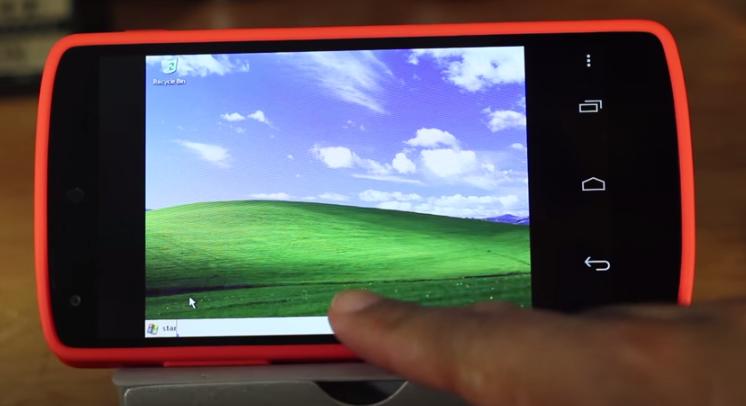 Cara Install Windows XP di Android
