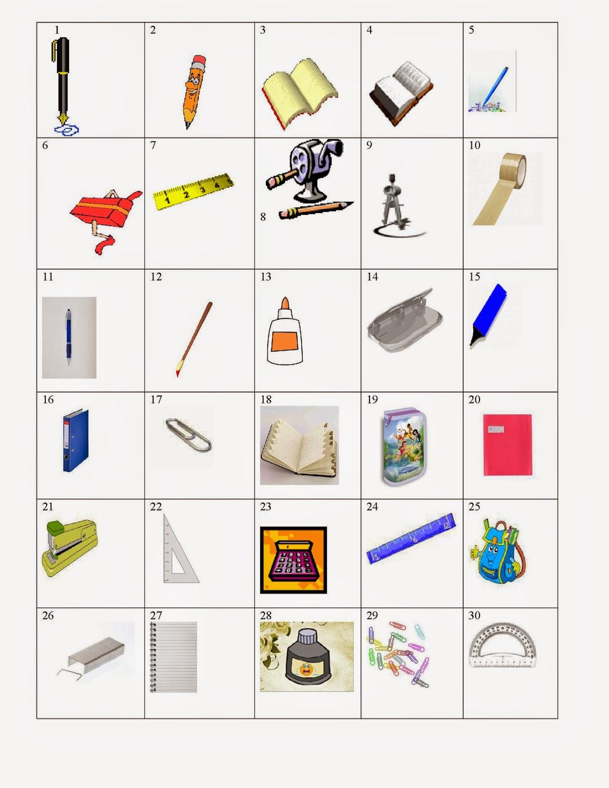 Préférence La classe de français: Vocabulaire débutants, deuxième partie. Des  ZS72