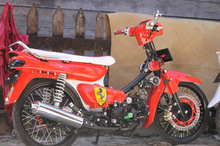 Modifikasi Motor Legenda Kumpulan Foto Modifikasi Honda Astrea