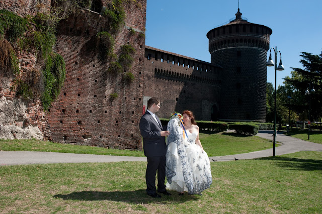 matrimonio con lo sponsor chiara e maurizio castello sforzesco
