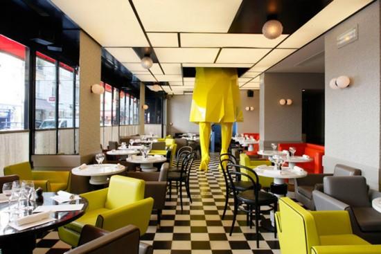 germain parisian restaurant interior design