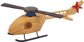Helicóptero Solar de Madera