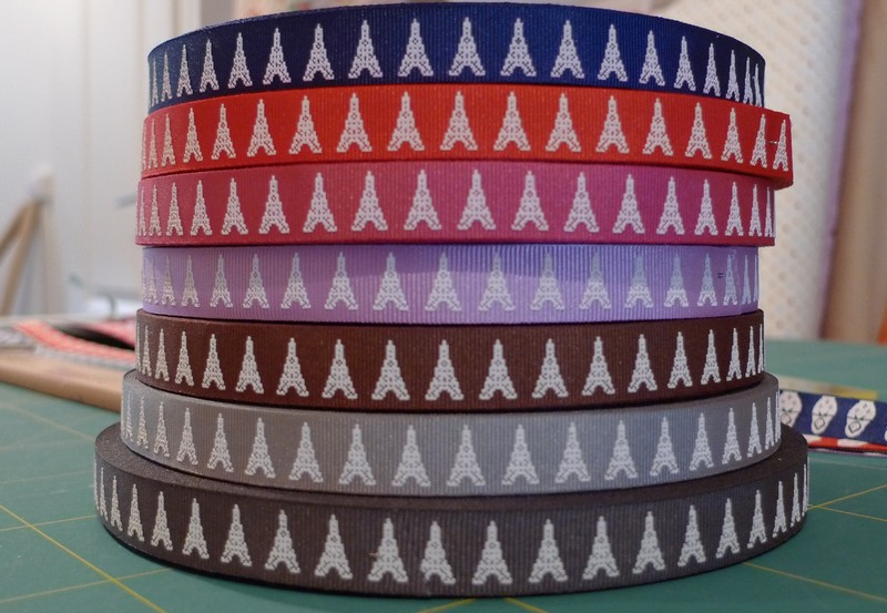 Motif personnel nouveaux rubans pixelis s poup e russe et nouveaux coloris de tour eiffel - Salon creation et savoir faire billet gratuit ...