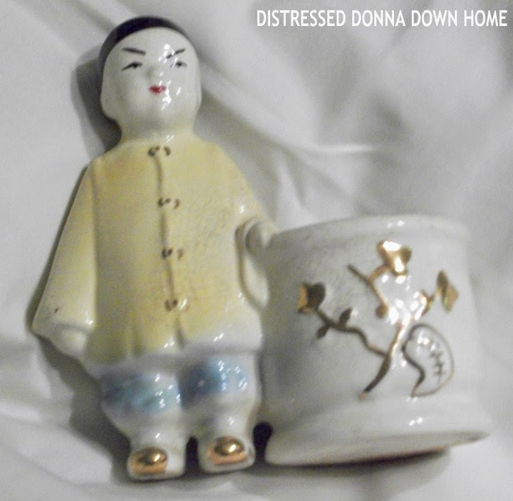 Mexican pottery figures, Japanese figurine, animal figurines