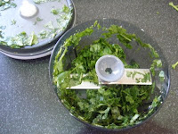 Tupperware Happy Chopper basil pesto