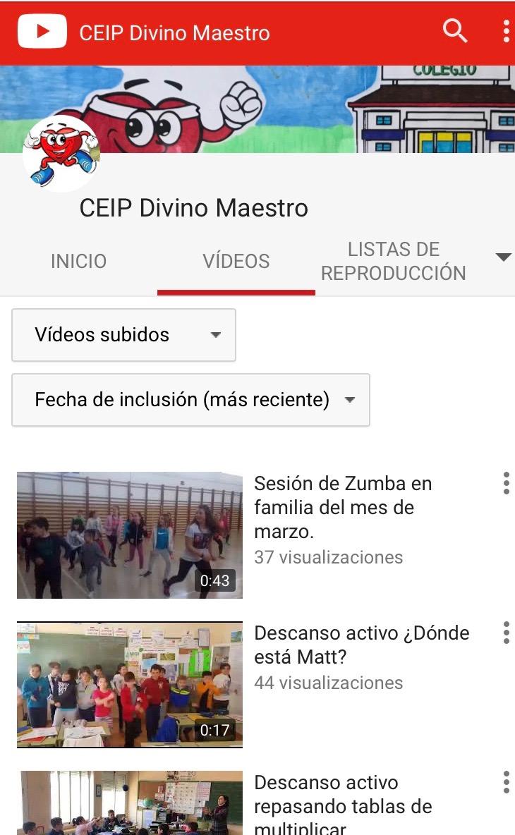 Nuestro canal de YouTube (Clica):