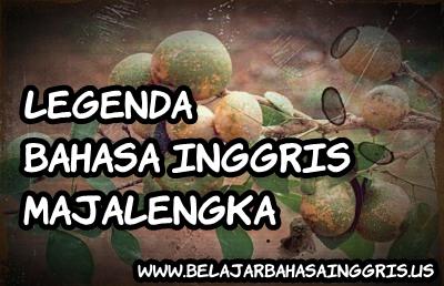 Legenda Bahasa Inggris: Majalengka | www.belajarbahasainggris.us