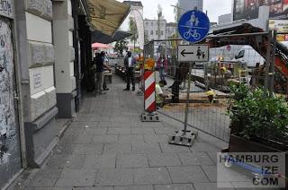 Detlev-Bremer-Straße - Baustelle