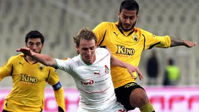 AEK Athens 1 - 3 Lokomotiv Moscow (2)