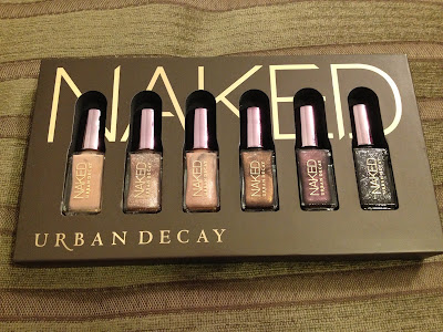 Urban Decay, Urban Decay nail polish, Urban Decay Naked Nail Set, Urban Decay gift set, nail, nails, nail polish, polish, lacquer, nail lacquer
