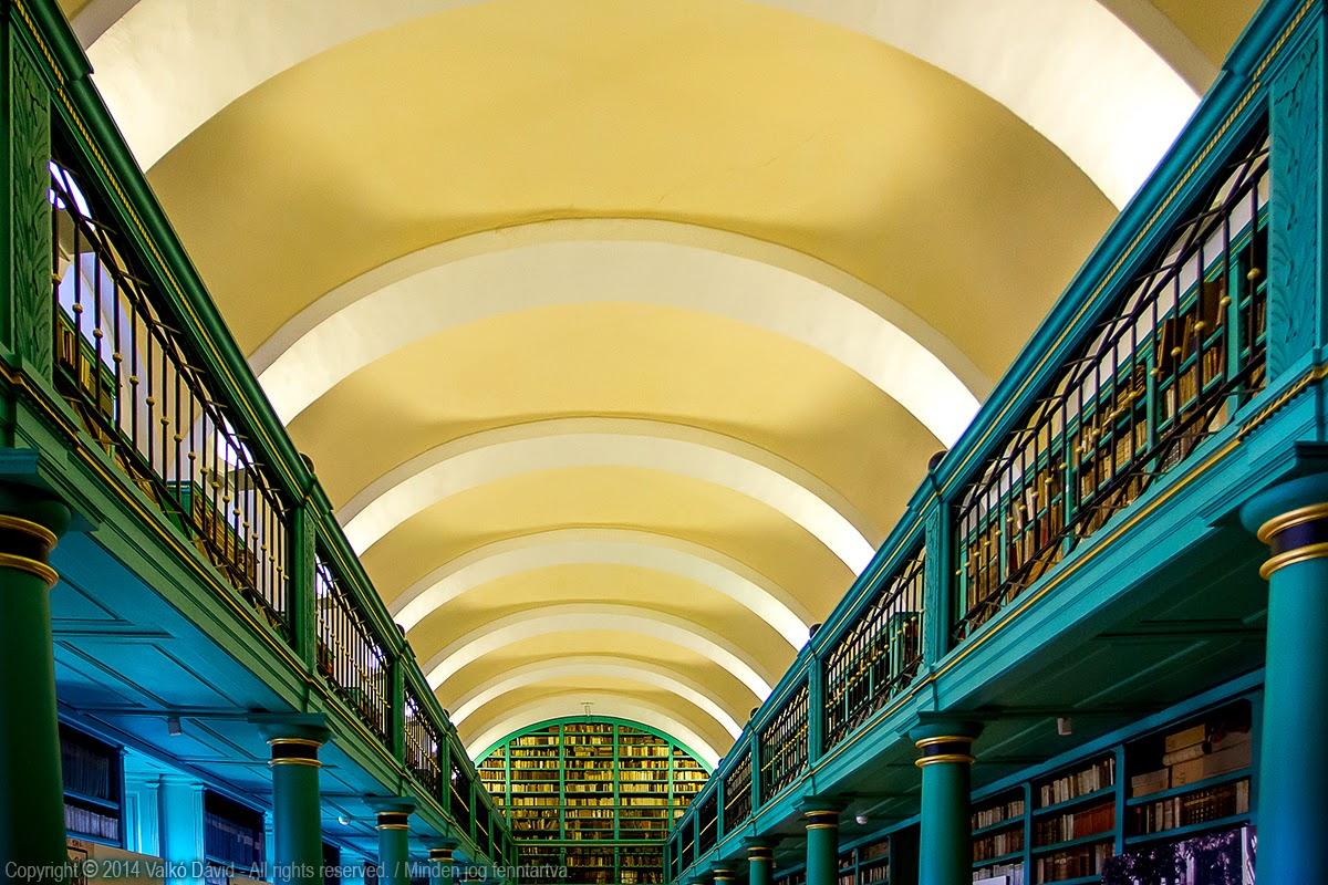 A Debreceni Református Kollégium Nagykönyvtára - Debrecen, Magyarország
