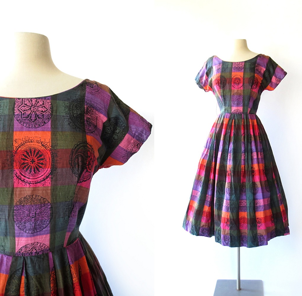 Cathedral Window Dress