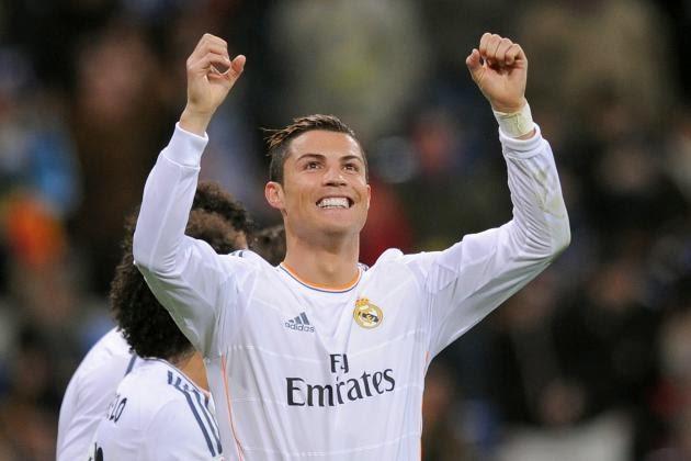 Cristiano Ronaldo (2-0)  Jornada Jornada 35 - 26/04/2014