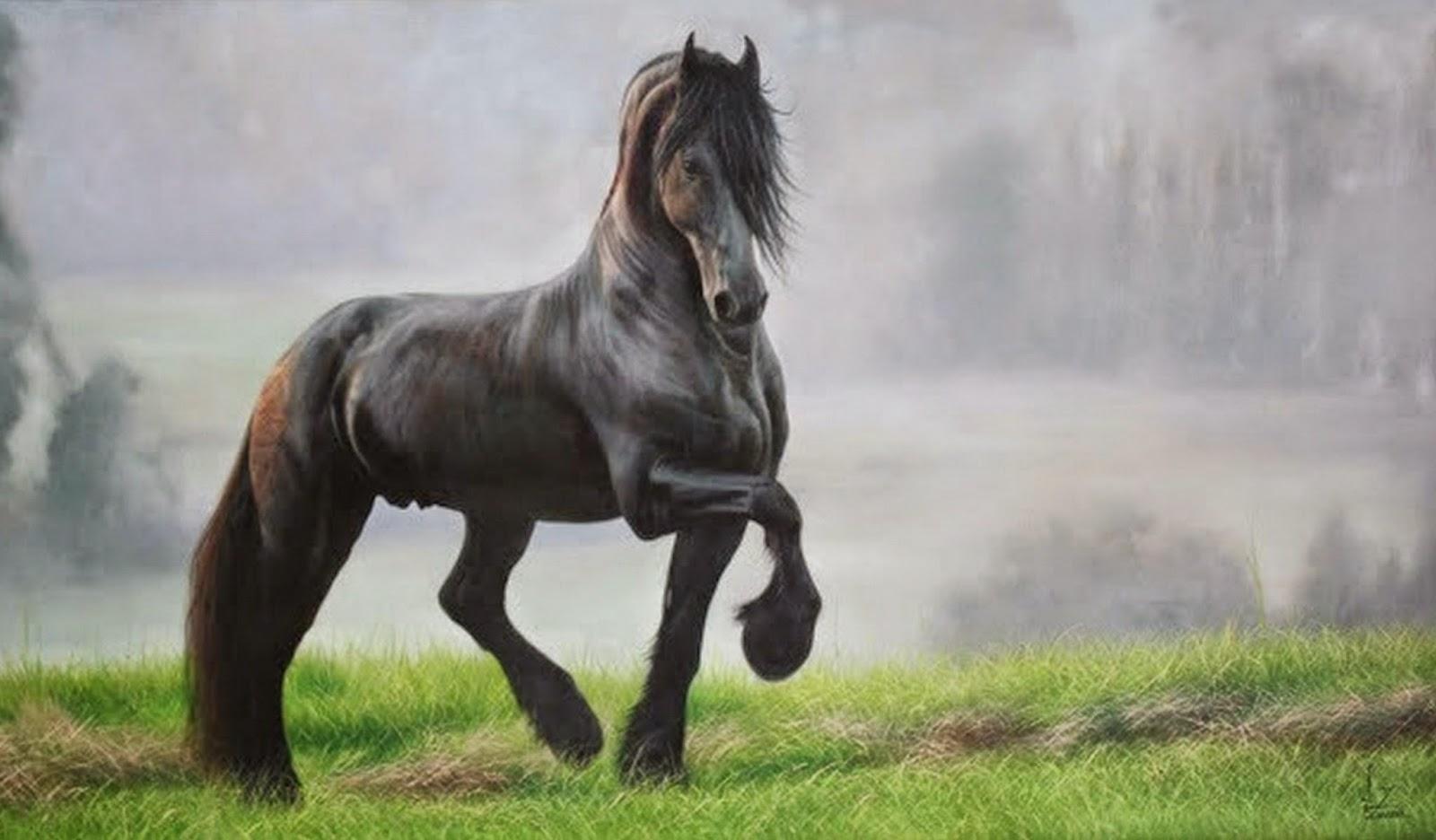 pinturas-de-caballos-al-oleo
