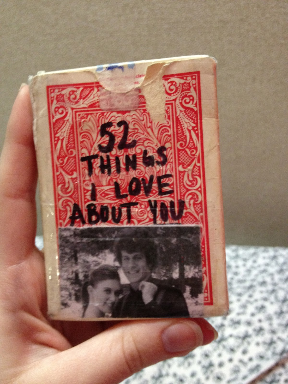 52 Things I Love About You Gift Ideas