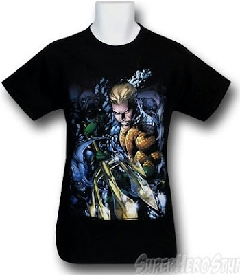Click here to purchase Aquaman New 52 #1 t-shirt at SuperHeroStuff!