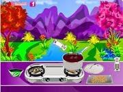 Món Soup bí ngô, chơi game nấu ăn hay của y8