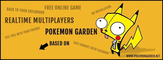 Quick look at HTML5 Pokemon Garden