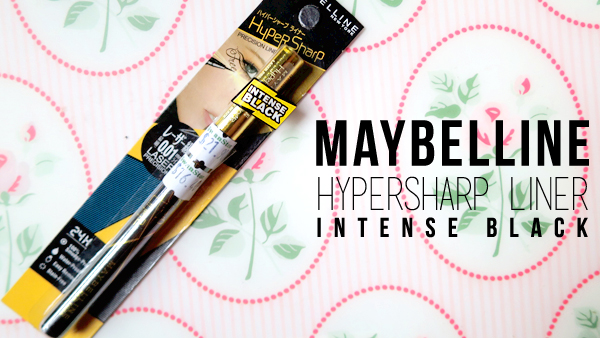 MAYBELLINE HyperSharp Liner (Swatch and Review)
