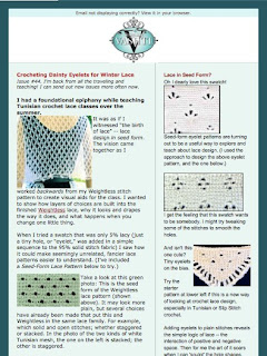 Vashti's Crochet Pattern Companion: Crochet Inspirations Newsletter