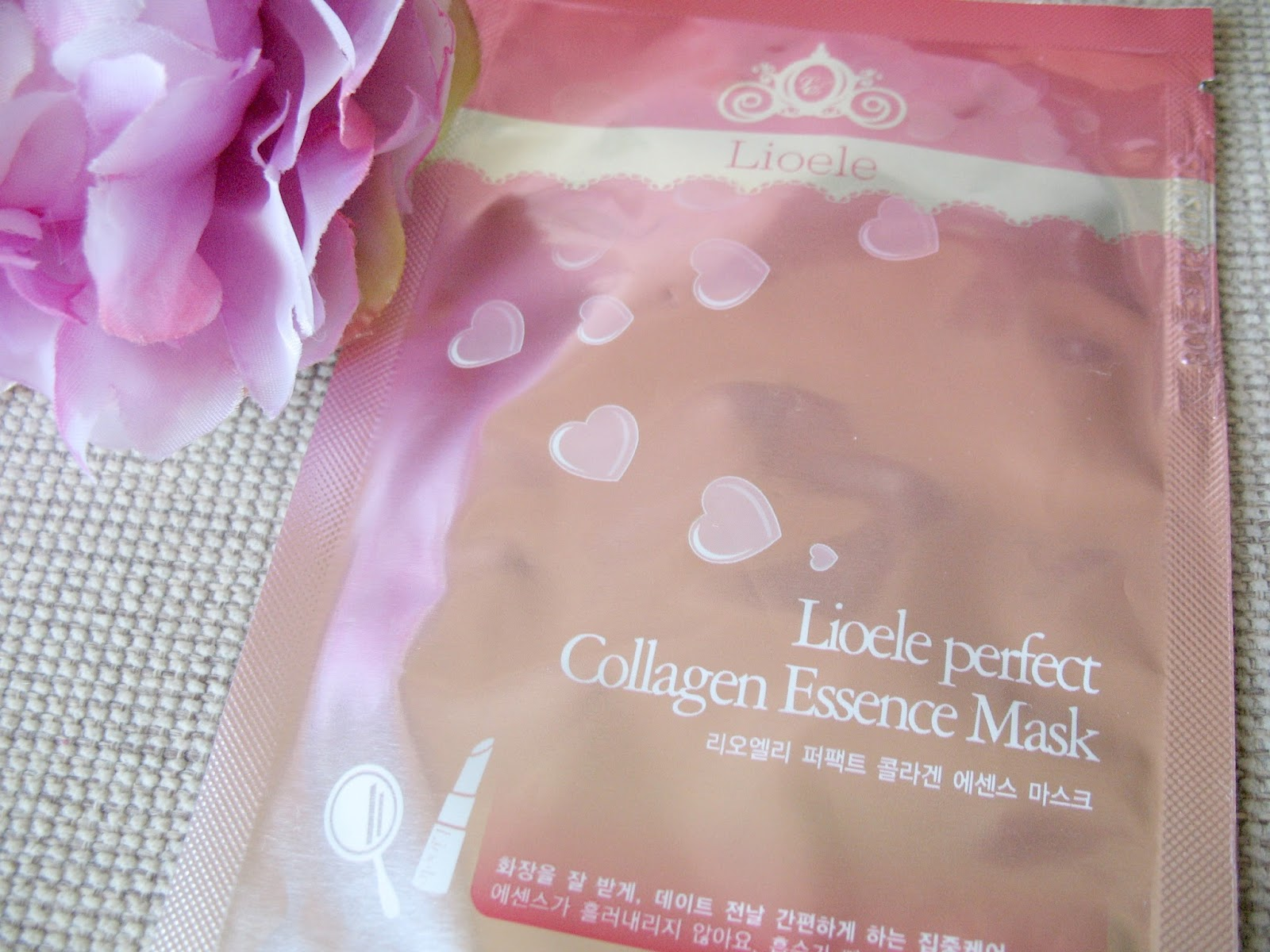 Lioele Perfect Collagen Essence Mask