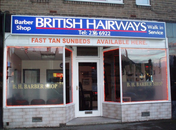 British Hairways, funny salon names