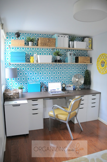 Home Office Organization :: OrganizingMadeFun.com