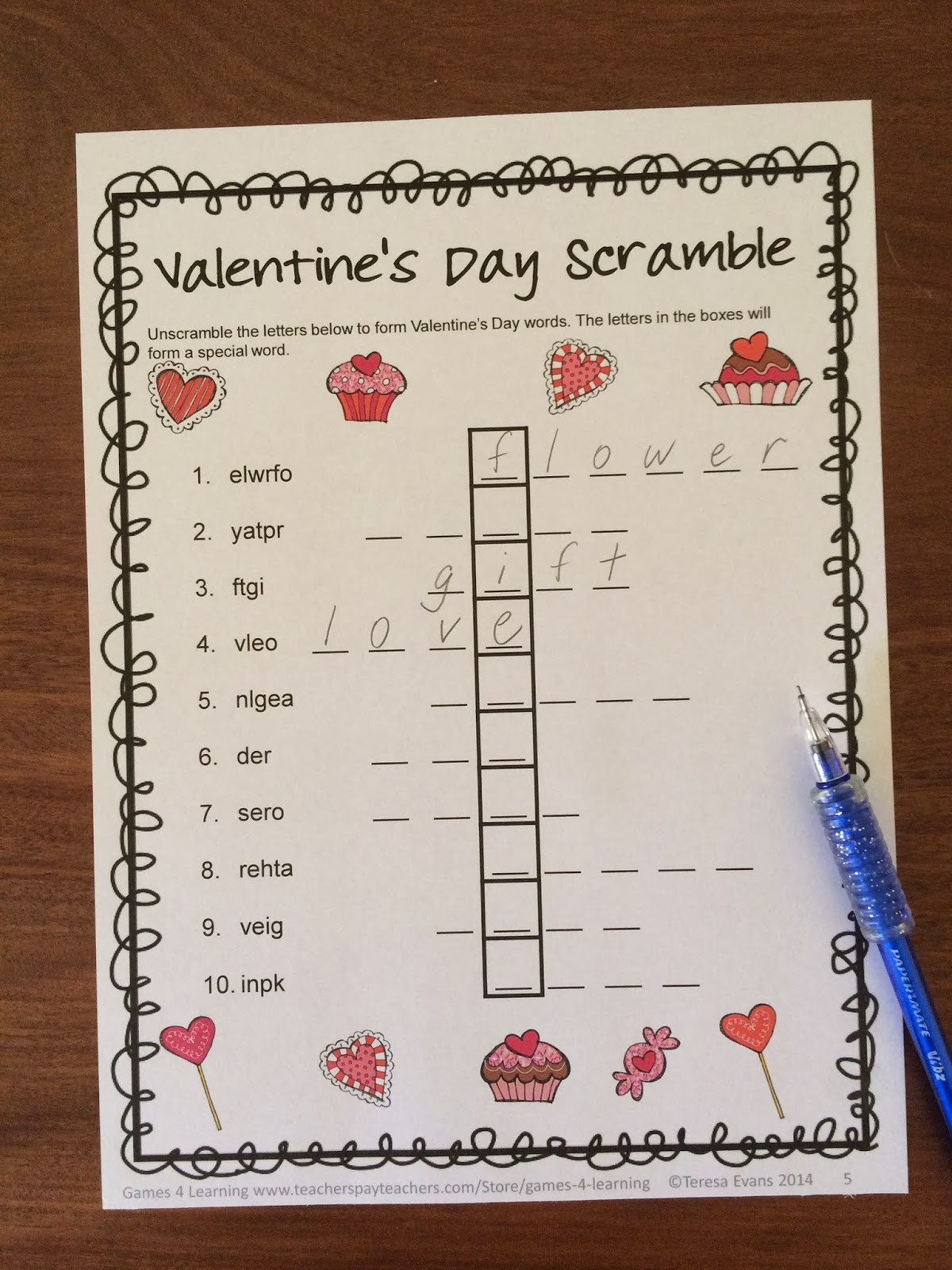 http://www.teacherspayteachers.com/Product/Valentines-Day-Literacy-Puzzles-Freebie-1094526