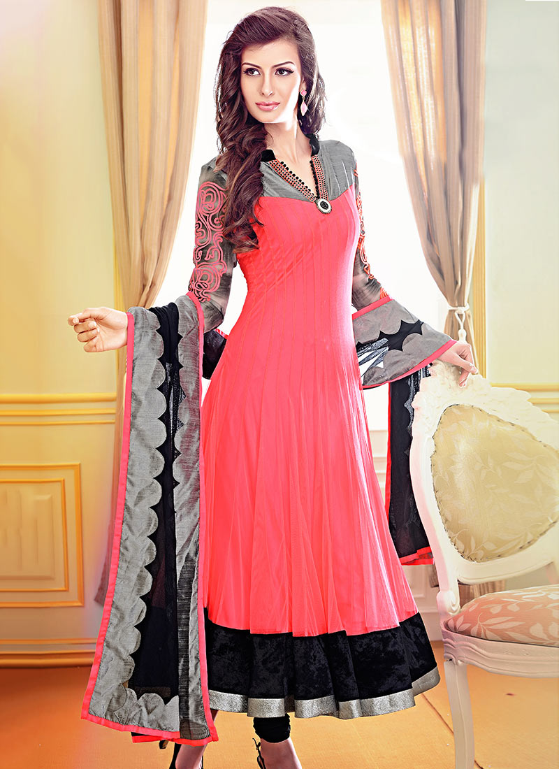 Fancy Anarkali Shalwar Suits Fashion Lawn Sweater