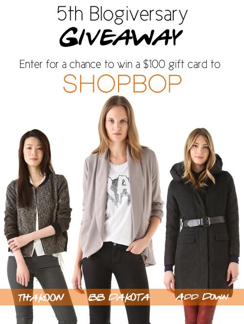 shopbop, giveaway,