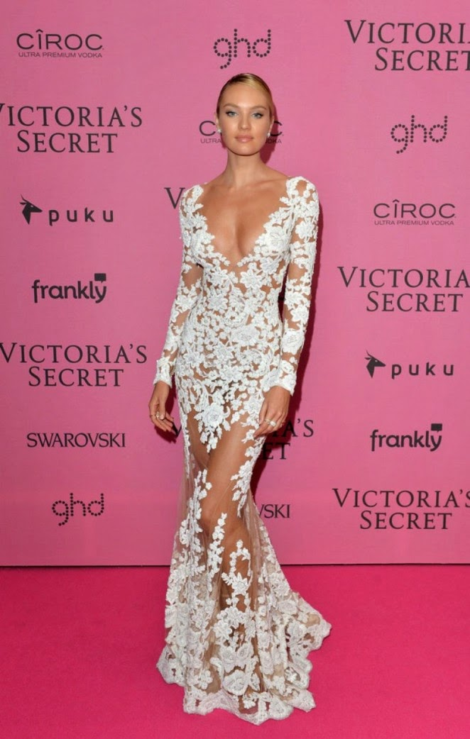 Candice Swanepoel - 2014 Victoria's Secret Fashion Show in London
