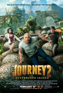 Journey 2: The Mysterious Island 3D (2012) BluRay 720p Half SBS 700MB
