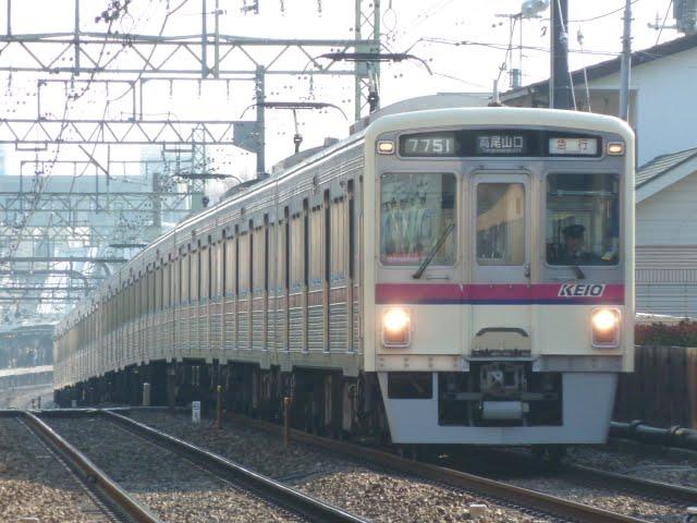 京王電鉄 急行高尾山口行き1 7000系(平日14本運行)