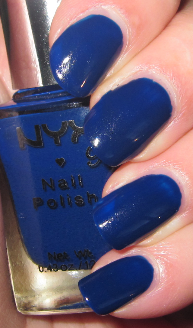 Glitter is my crack...: Nails/NOTD: NYX Girls - Ink Heart