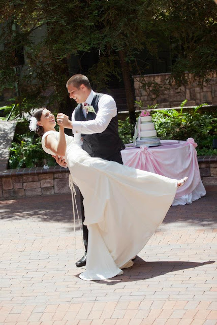 Disneyland wedding - Brisa Courtyard {Katie Keller Photography}