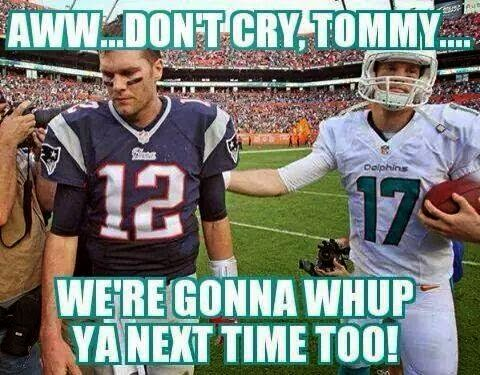aww... don't cry, tommy... we're gonna whup ya next time too!