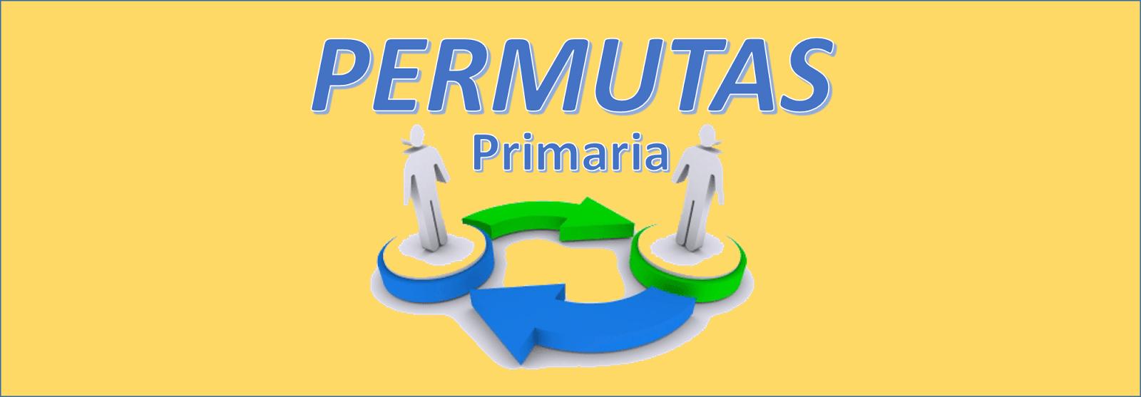 PERMUTAS 2016 - PRIMARIA