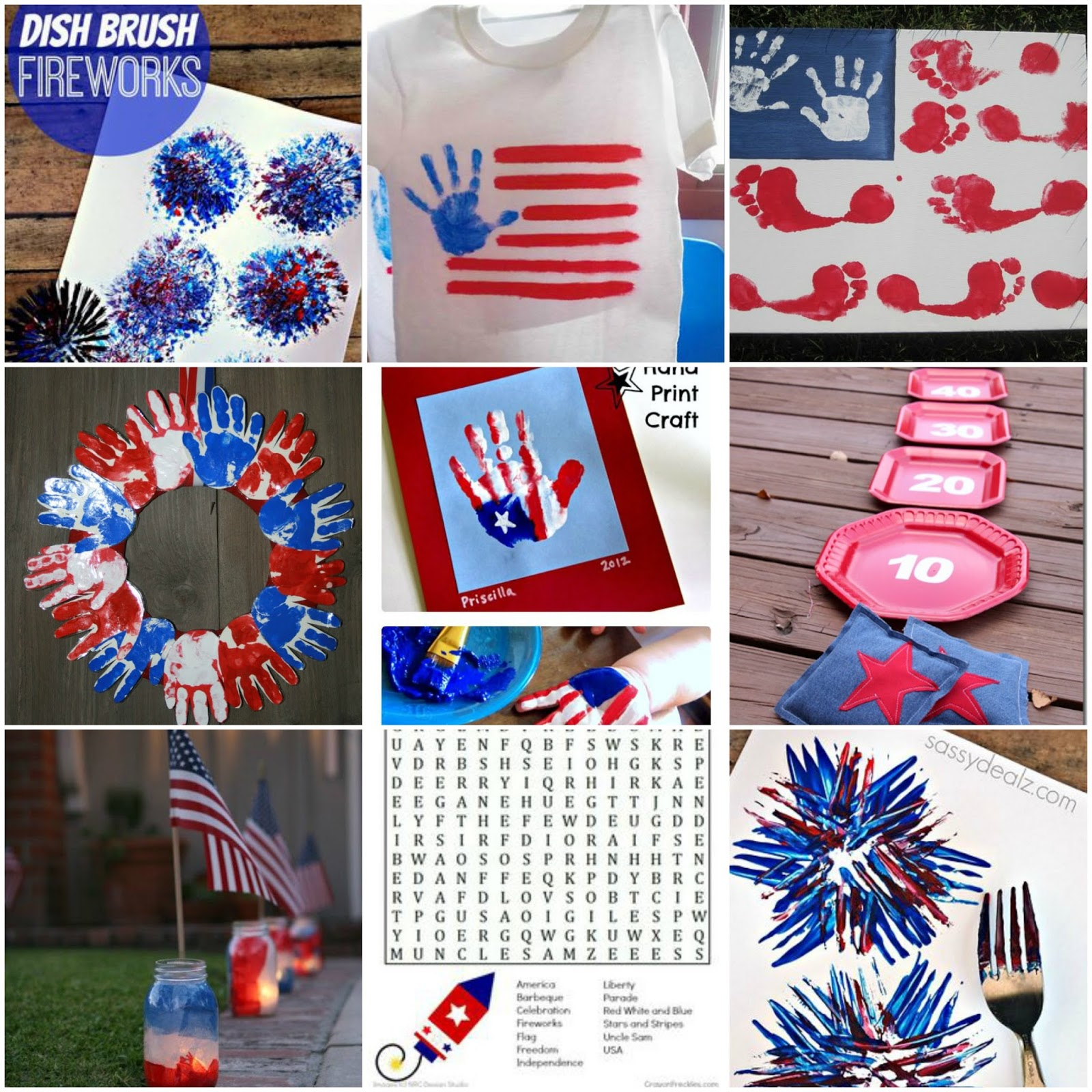Kids crafts archives mother2motherblog for Americana crafts to make