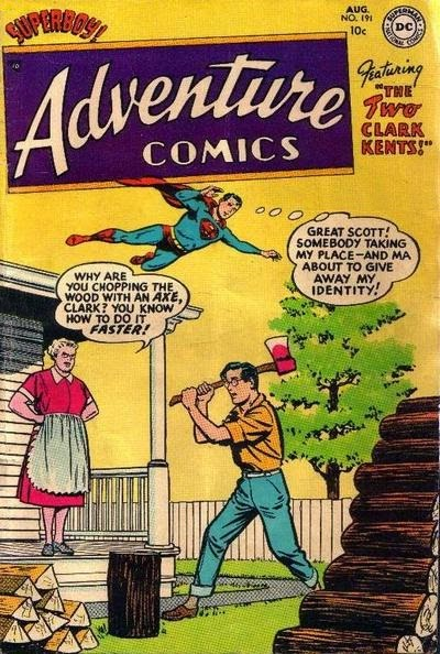 Adventure 191--The Two Clark Kents