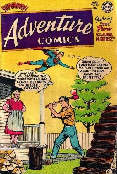 Adventure 191--The Two Clark Kents