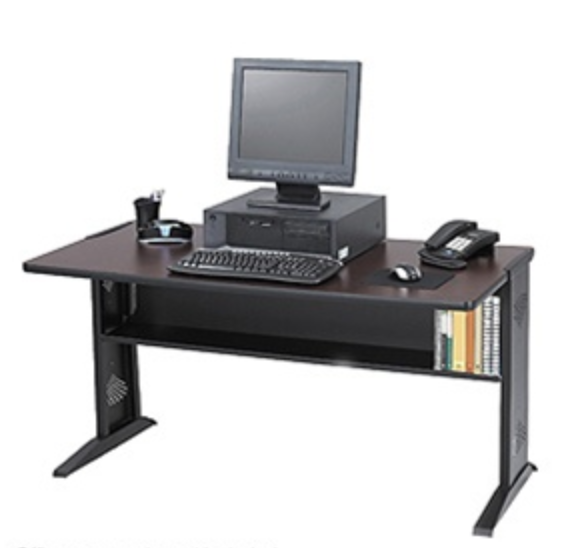 Safco Reversable top desk
