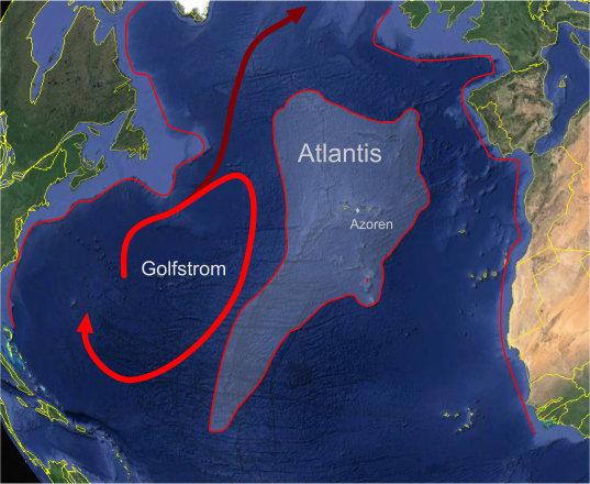 Image result for Vor der großen Flut war Atlantis eine Insel
