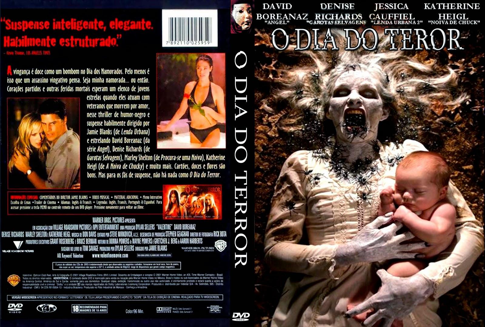 Filme O Dia Do Terror inside o dia do terror   capas x filmes