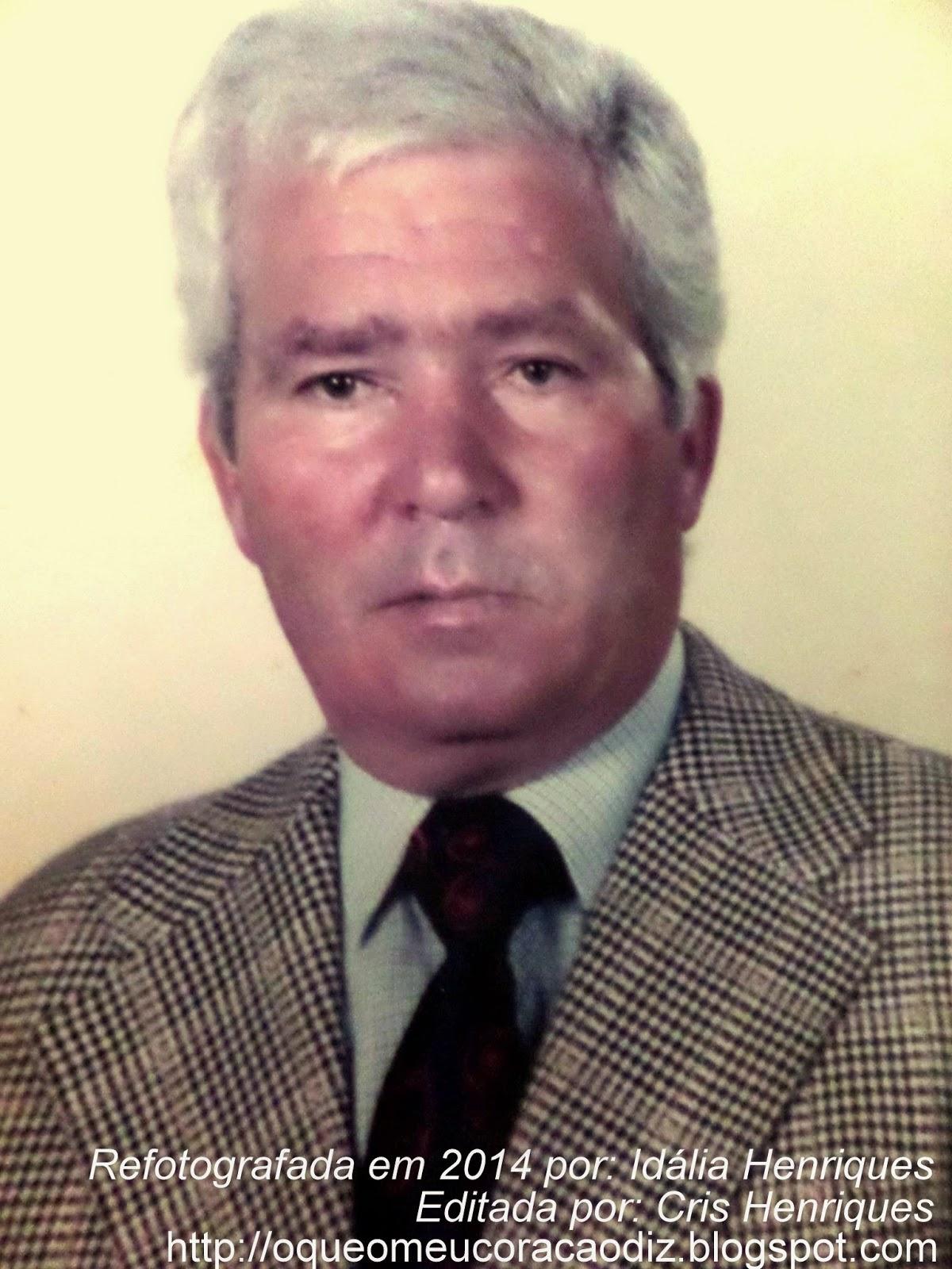 Homenagem a António Feliciano Henriques - O Marujo, http://oqueomeucoracaodiz.blogspot.com/, O Que O Meu Coração Diz, Cris Henriques