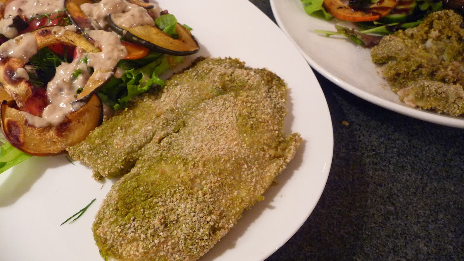 Ginger And Cilantro Baked Tilapia Recipe — Dishmaps