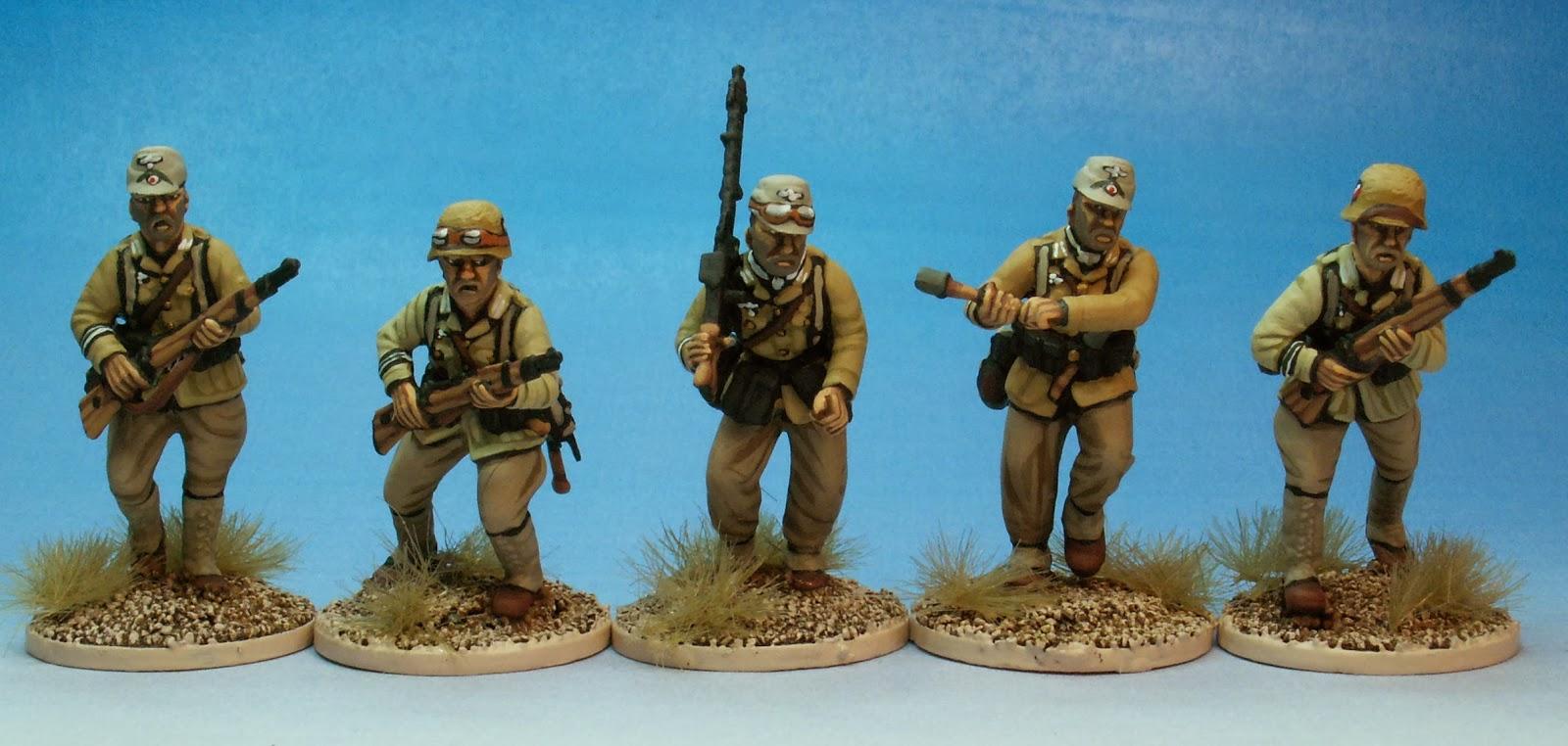 Vallejo German Afrika Korps 1942-1944 (DAK) 6 Color Paint ...