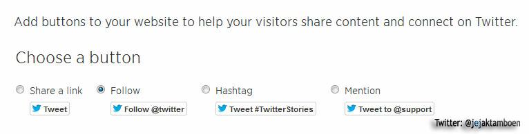 Cara Mudah Membuat Tombol Follow Twitter Di Blog, Cara memasang tombol follow twitter di blog sangatlah mudah,